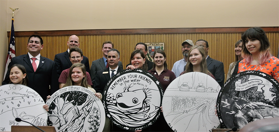 City of San Marcos Proclamation Day for Storm Drain Covers