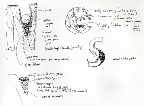 Nest project sketches
